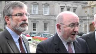Sinn Féin priorites for Autumn 2010 Dáil term