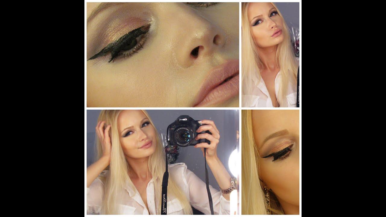 Molto Makeup tutorial M.A.C Melon Pigment e labbra nude - YouTube BD77