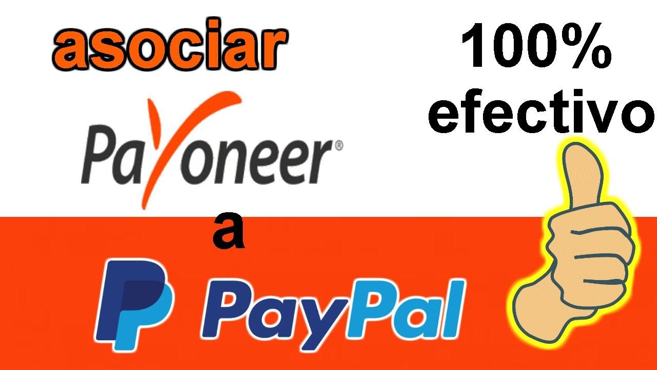 asociar payoneer con paypal METODO FACIL 2017 | si funciona