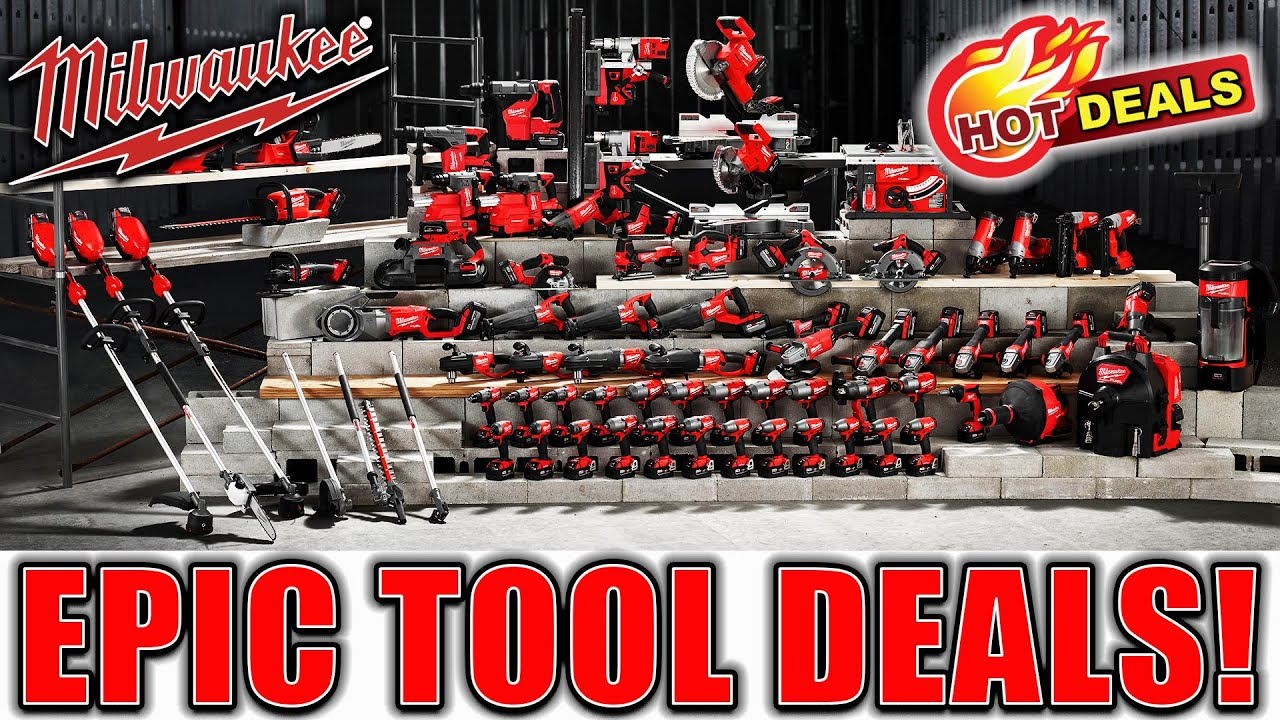 EPIC MILWAUKEE TOOL DEALS YOU WON'T FIND ANYWHERE ELSE!