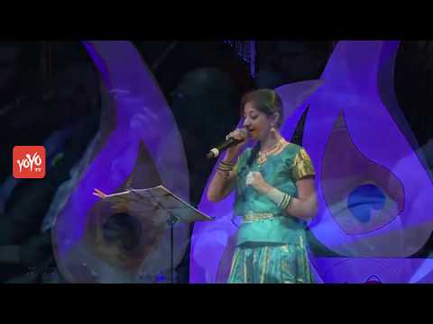 Aanathi Neeyara Song Performance by Young Singer at TANA Convention | NRI Events | YOYO TV Channel