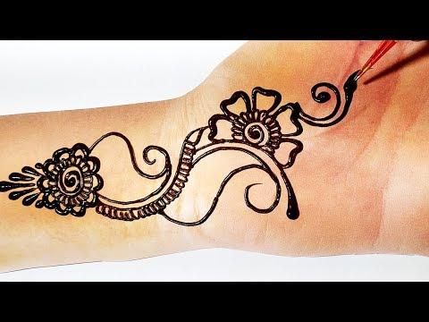Unique Mehndi Design - New Arabic Mehndi Design for Hands || किसी भी तीज त्यौहार लगाएं ये मेहँदी