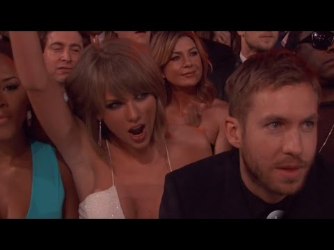 Taylor Swift & Calvin Harris Cozy Up at the Billboard Music Awards