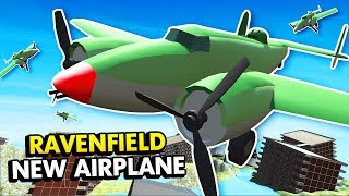 POWERFUL NEW AIRPLANE IN RAVENFIELD (Ravenfield Funny Gameplay)
