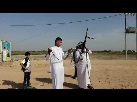 عراضه عشيره ال هرموش  احد عشائر  ال شبل  في مضيف الشيخ ابو عادل شيخ  ال هرموش