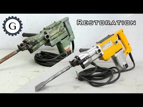Rotary Hammer Drill Restoration | Hitachi Rotary Hammer Drill