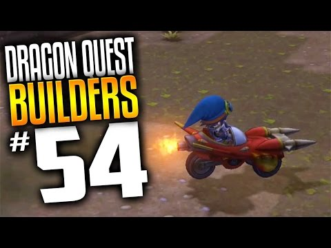 Dragon Quest Builders Gameplay - Ep 54 - Bashmobile Rocket Car! (Lets Play Dragon Quest Builders