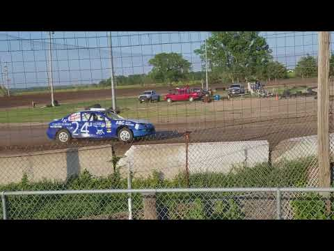 Lincoln County Raceway 06/09/18 Sport compact Heat #1