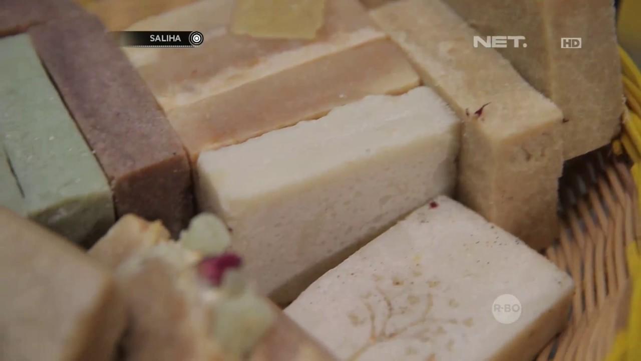 Saliha Cara Membuat Sabun Homemade Yang Ramah Lingkungan Youtube