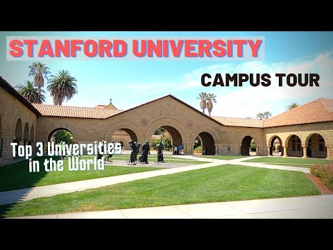 Stanford University Campus Tour 2021 | Top University in the world