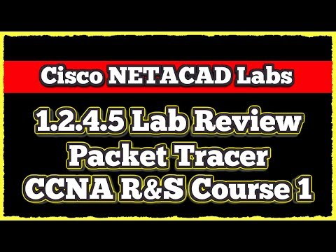 Cisco CCNA NETACAD Routing And Switching V6 0 Lab 1 2 4 5