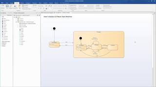 Executable State Machine Simulation and Code Generation with Enterprise Architect