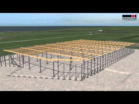Hercuton: animatiefilm bouwproces nieuwbouw Alcoa Harderwijk