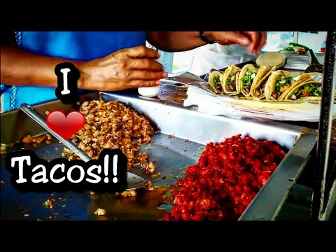Mexican Street Food in San Luis Potosi, Mexico - BEST LOCAL Taco Stand - Mexican Food Truck