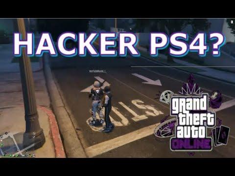GTAV ONLINE PS4 TRETANDO COM HACKERS NA SESSAO PUBLICA