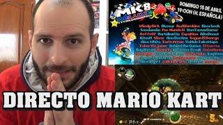¡TORNEO EN DIRECTO DE MARIO 8 DELUXE! - Sasel - youtubers - YTMKGrandPrix - Switch