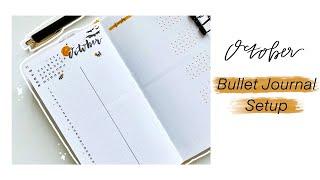 October 2020 Minimal Bullet Journal Setup | Archer and Olive | LindseyScribbles