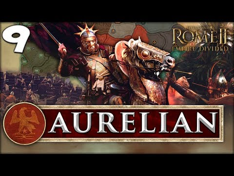 SINKING FEELING! Total War: Rome II - Empire Divided - Aurelian Campaign #9