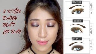 Phép màu makeup- Một số cách trang điểm mắt đơn giản
