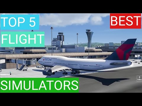 BEST Flight Simulators For IOS And Android
