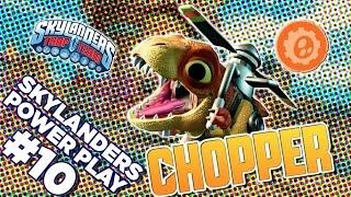Skylanders Power Play: Chopper l Skylanders Trap Team l Skylanders
