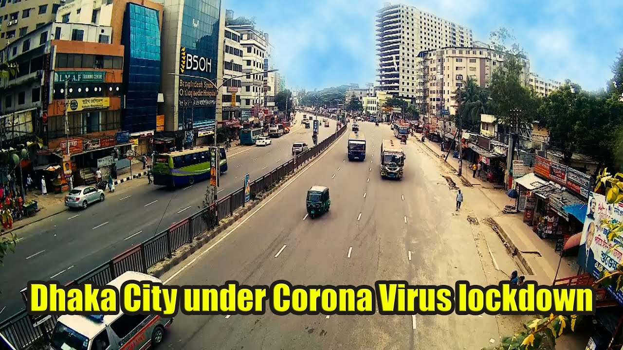 Dhaka City under Corona Virus lockdown Times Leps || TBD Bangla