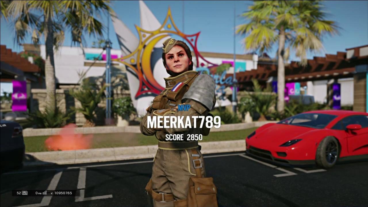 Siege Six Twitch Operator Rainbow