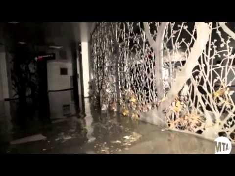 Subways Underwater Due To Sandy - New York Post