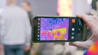 Blackview BV9800 Pro Quick-Look | CES 2020 | Thermal by FLIR