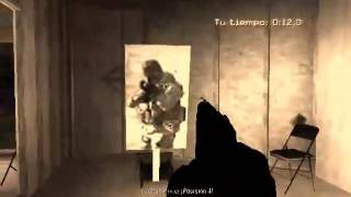 My CQB test on COD4 MW