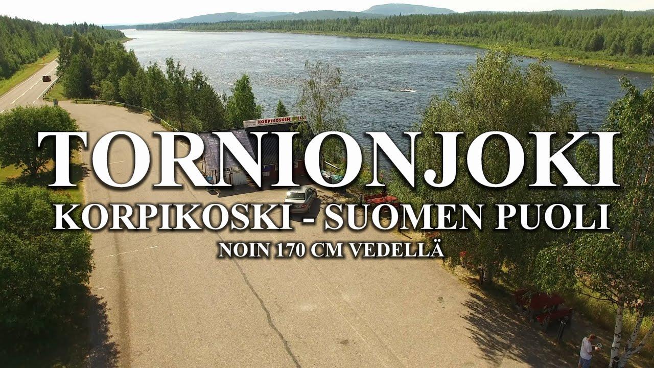 Tornionjoki Vedenkorkeus