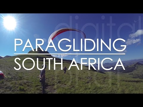 Paragliding in Bulwer - South Africa / Gleitschirmfliegen in Afrika