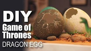 How To Make A Dragon Egg | Game Of Thrones Special | DIY Craft
