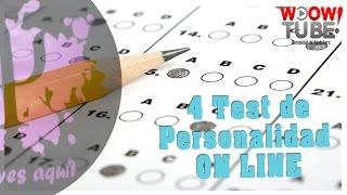 4 TEST DE PERSONALIDAD ON LINE | por PsicoVlog