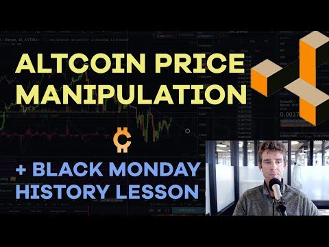 Altcoin Price Games, Dollar Cost Avg + Dips, Tezos, Palm Beach Confidential, Black Monday - CMTVEp67