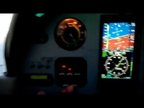 DKB Coupled Approach in a dual Avidyne IFD540 equipped Cardinal RG