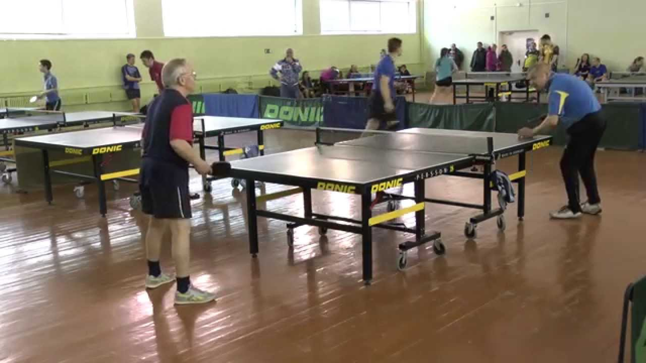 Лев НИКОНОРОВ - Геннадий КОЖЕВНИКОВ (Полная версия) Настольный теннис Table Tennis