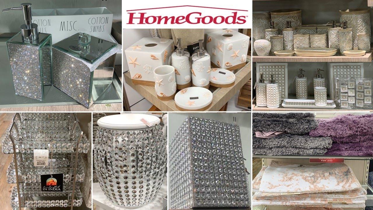 HomeGoods Bathroom Decoration Accessories * Glam Home Decor Ideas