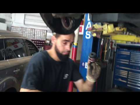 BMW X5 Rear Boll joint replacment WITHOUT SPECIAL TOOL