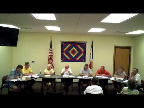 June 20, 2011 Kalona, IA City Council Meeting