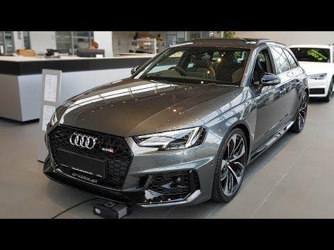 The New Audi Rs 4 Avant Cooling Down Doovi