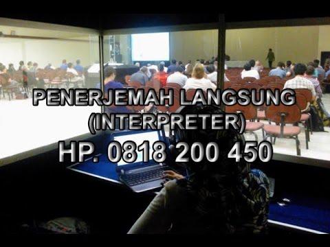 Jasa Penerjemah Interpreter Bahasa Indonesia Inggris Jepang Mandarin