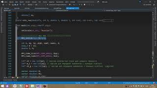 как подключить MPI к проекту. MS Visual Studio 2019