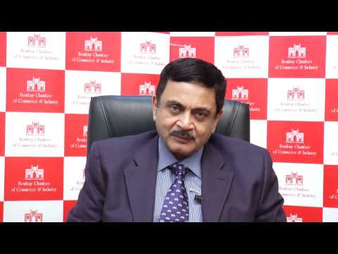 Mr.  Vijay Srirangan, Director General Bombay Chamber of Commerce and Industry