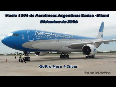 Buenos Aires - Miami Airbus A330 Aerolineas Argentinas