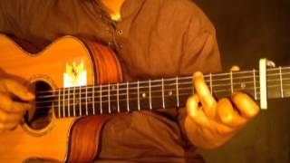 "Tutorial Belajar Fingerstyle Guitar "" Iwan Fals - Kumenanti Seorang Kekasih "" Bag. 1"