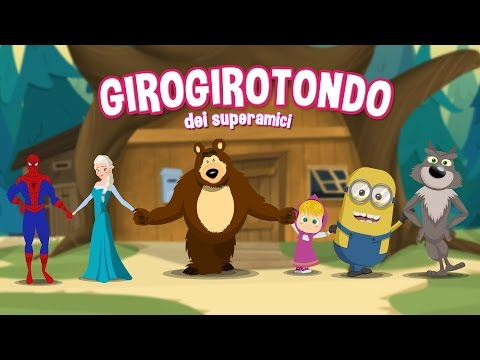 Giro Giro Tondo Masha e Orso - Canzoni per bambini di Dolci Melodie