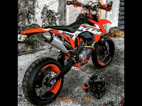 ktm 500 exc xcw supermoto new wheels & tires walk around review