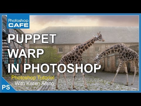 How To Use PUPPET WARP In PHOTOSHOP TUTORIAL