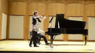Ravel Violin&Piano Sonata - III. Perpetuum Mobile